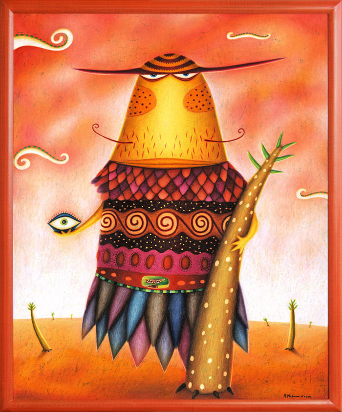 Portals Painting - Agomo the wise