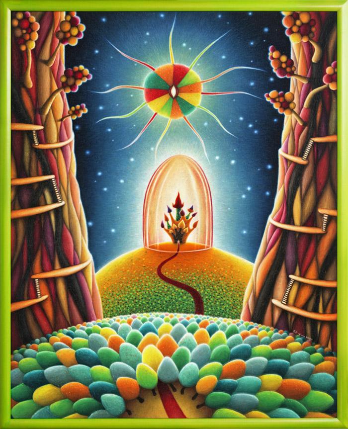 Portals Painting Bright Faraway